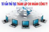 Thủ tục mở thêm chi nhánh công ty tại Nghệ An