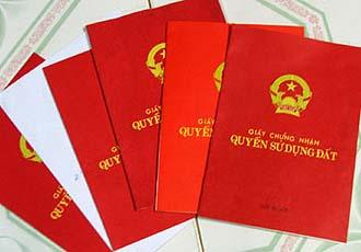 Thủ tục cấp đổi giấy chứng nhận quyền sử dụng đất tại Nghệ An