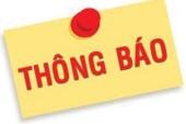 Mẫu thông báo lập văn phòng đại diện tại Nghệ An.