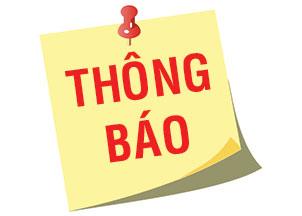 Mẫu thông báo lập chi nhánh tại Nghệ An