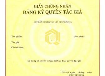 Hiệu lực giấy chứng nhận đăng ký quyền tác giả tại Nghệ An