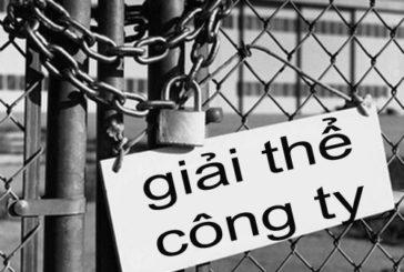Hồ sơ giải thể công ty tại Nghệ An