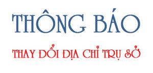 Hồ sơ thay đổi địa chỉ công ty tại Nghệ An