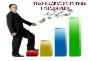 Quy trình thành lập công ty TNHH 1 thành viên