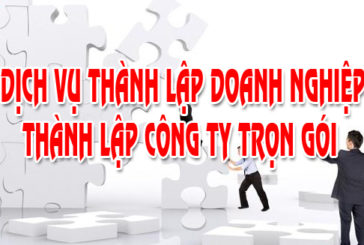 Thành lập công ty mới nhất tại Nghệ An