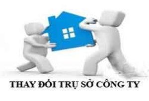 Thủ tục thay đổi địa chỉ công ty khác huyện tại Nghệ An