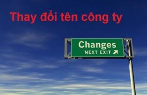 Hồ sơ thay đổi tên doanh nghiệp tại Nghệ An