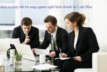 Tư vấn về việc bổ sung ngành nghề kinh doanh tại Nghệ An