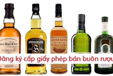Đăng ký cấp giấy phép kinh doanh bán buôn rượu tại Nghệ An