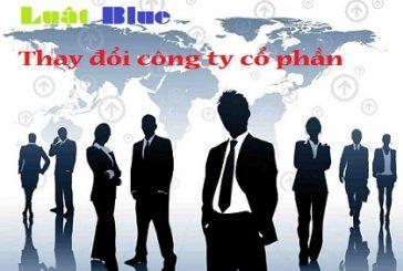 Thủ tục thay đổi cổ đông công ty cổ phần tại Nghệ An