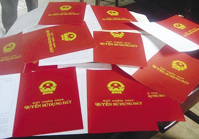 Dịch vụ làm sổ đỏ trọn gói (Nguồn internet)