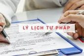Thủ tục xin cấp lý lịch tư pháp cho người nước ngoài tại Nghệ An