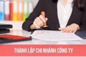 Thủ tục thành lập chi nhánh công ty tại Đô Lương- Nghệ An